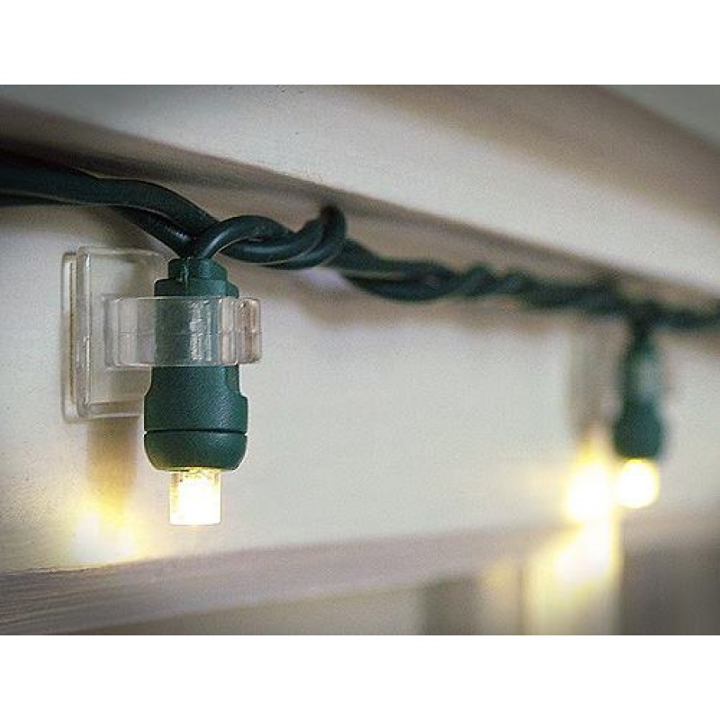 Christmas Lights Wall Clips : Mini Light Adhesive Clips Craft Christmas Lights