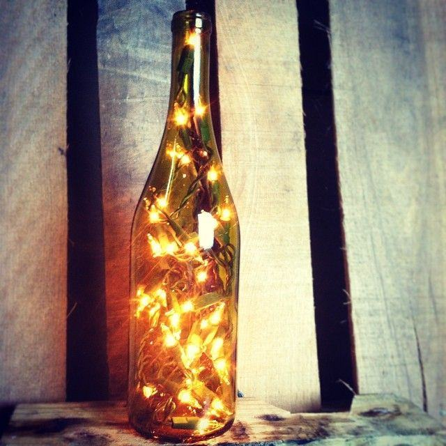 Lights for Wine Bottles & More | Craft Christmas Lights