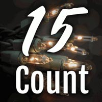15 Count Craft Christmas Lights