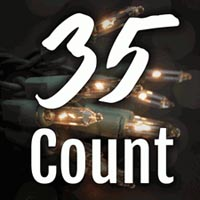 35 Count Craft Christmas Lights